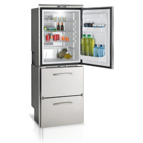 301 Litre 12/24 & 110/240V marine fridge freezer