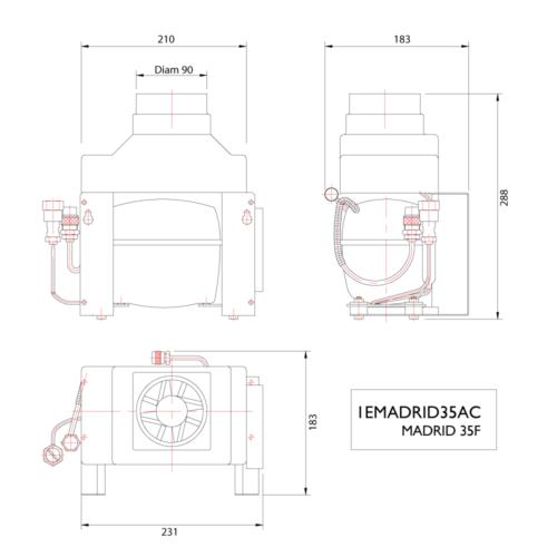 MADRID 35F AC 12/24V Compressor-01