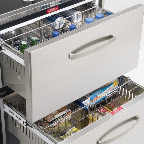 144 Litre 2 drawer 12/24 volt marine fridge or freezer with integral compressor-01