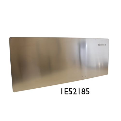 380F inox flat evaporator