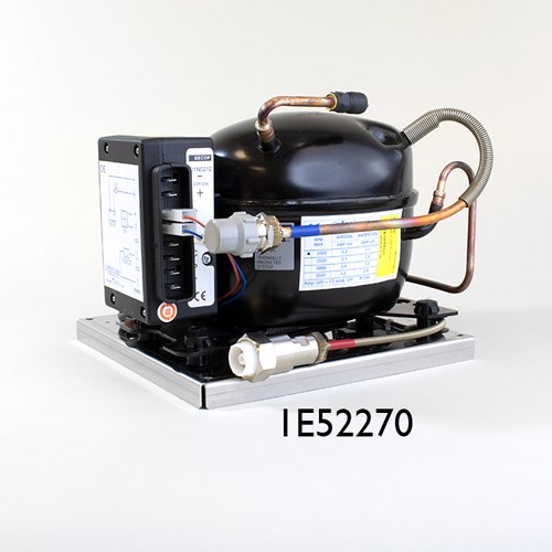 160 Litre Air Cooled Boat Fridge Kit 12V 24V-02