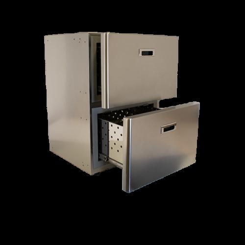 MS115 - 115 Litre stainless marine drawer fridge -01