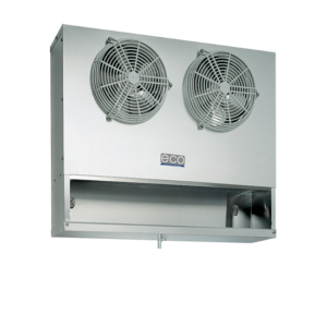 Marine cold room blown air evaporator