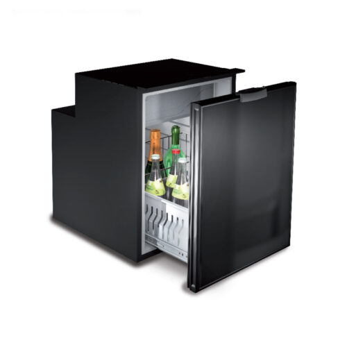 DW90 - 90 Litre single drawer fridge in stainless steel