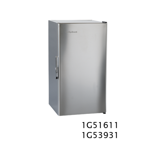MS180 - 180 Litre stainless marine fridge
