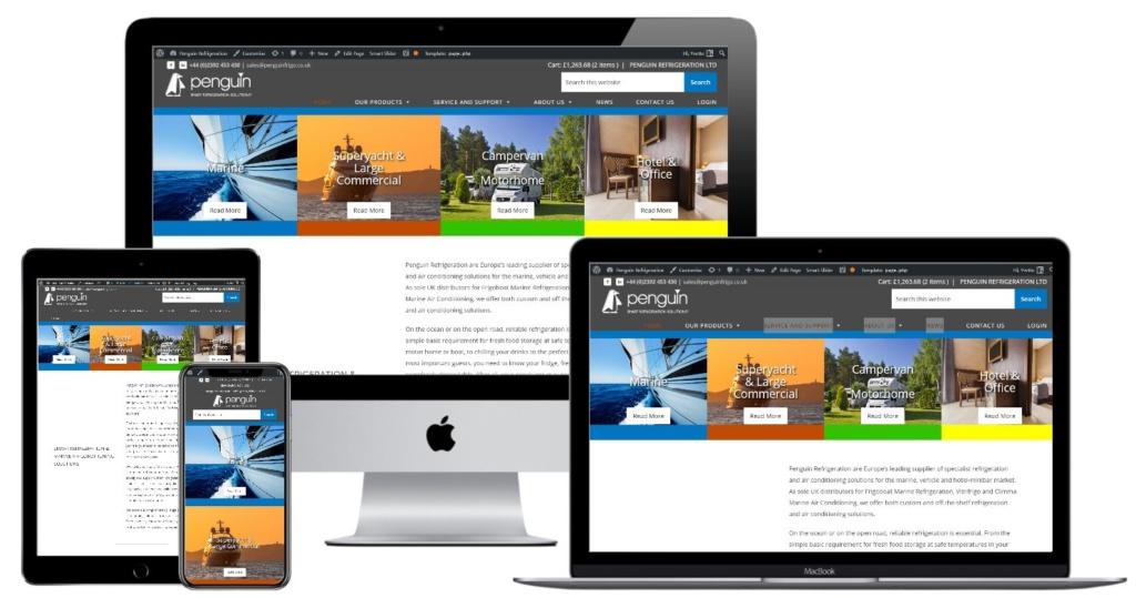 penguin refrigeration new website